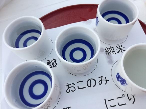 会津清酒で花見酒in鶴ヶ城の画像